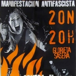 Mnaifestación antifascista