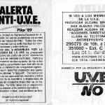 alerta anti-UVE