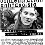 Concentración antifascista