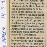 Semana de la bici 1992
