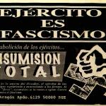 Ejército es fascismo