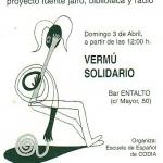 Vermú solidario