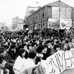Manifestación en Cesaraugusto