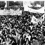 Manifestación Universidad y Enseñanzas Medias