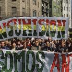 Madres de insumisos en manifestación