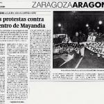 Protestas contra Mayandía