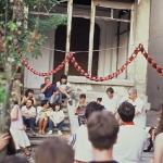 Fiesta sandinista en la Casa de la Paz