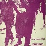 8 de marzo. Frente feminista 1982