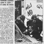 Protestas en el sorteo de mozos