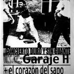 Garage H/ Corazón del sapo