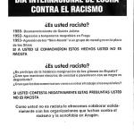 Dia internacional contra el racismo