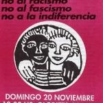 Manifestacion: no al racismo