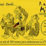 Radio MAI. Pegatina