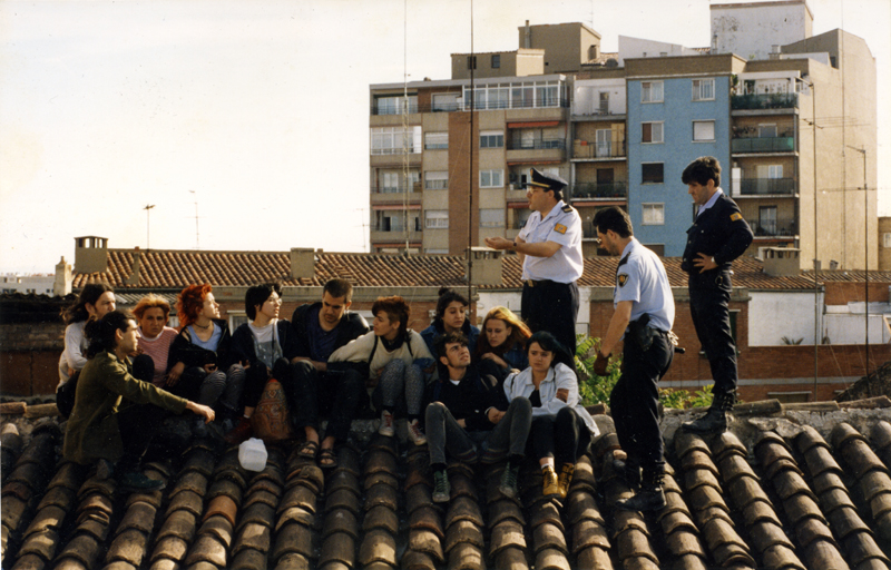 Okupas en el tejado
