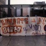 Manifestación de apoyo a la insumisión