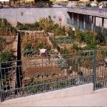 Huertos en el Jardin de la Memoria