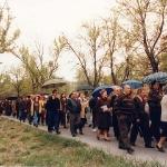 Manifestación de los vecinos de San José