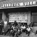 Encierro en Talleres Villar 1978