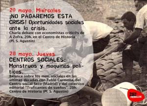 Charlas Zaragoza Rebelde